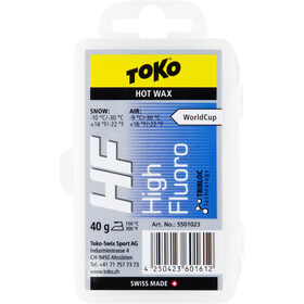 Toko HF Hot Wax 40 g blue